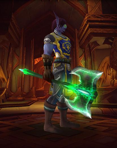 双手剑幻化_盘点魔兽世界里那些炫酷的双手斧!!!(第一期) - 哔哩哔哩