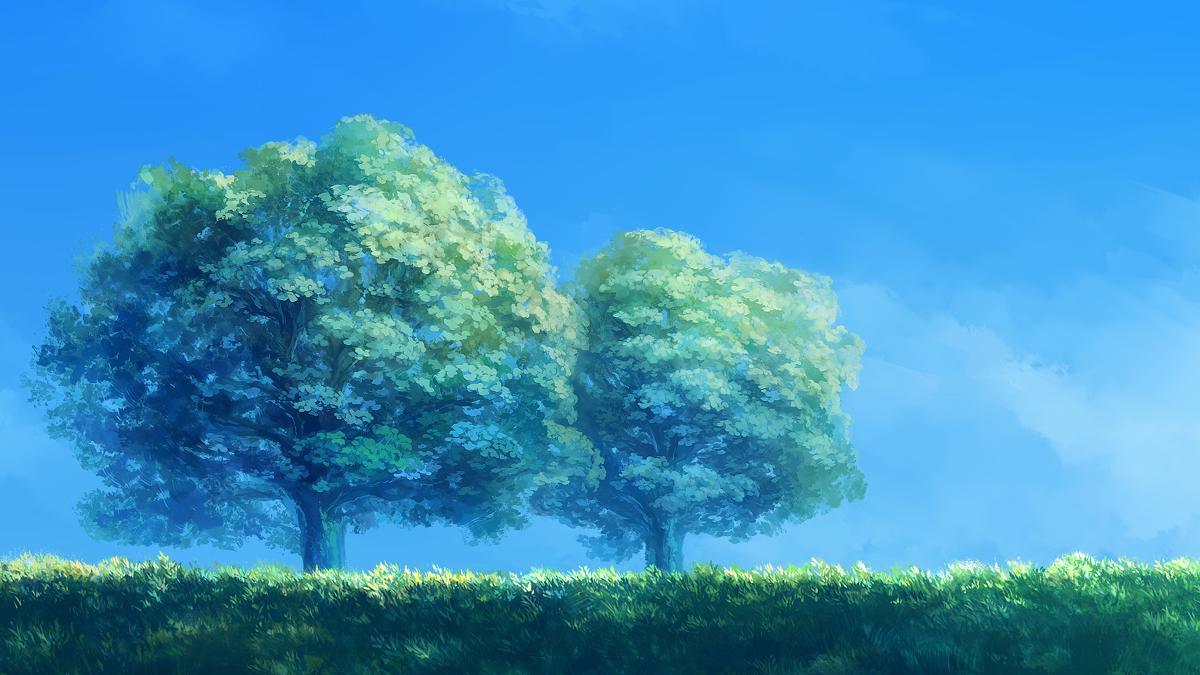 三十七种漂亮�yg���%���_p站精美插画欣赏·第三十七期·动漫风景