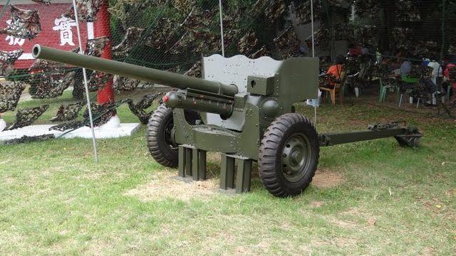 二战美国反坦克炮_全员二战:中国台湾现役牵引式榴弹炮 - 哔哩哔哩