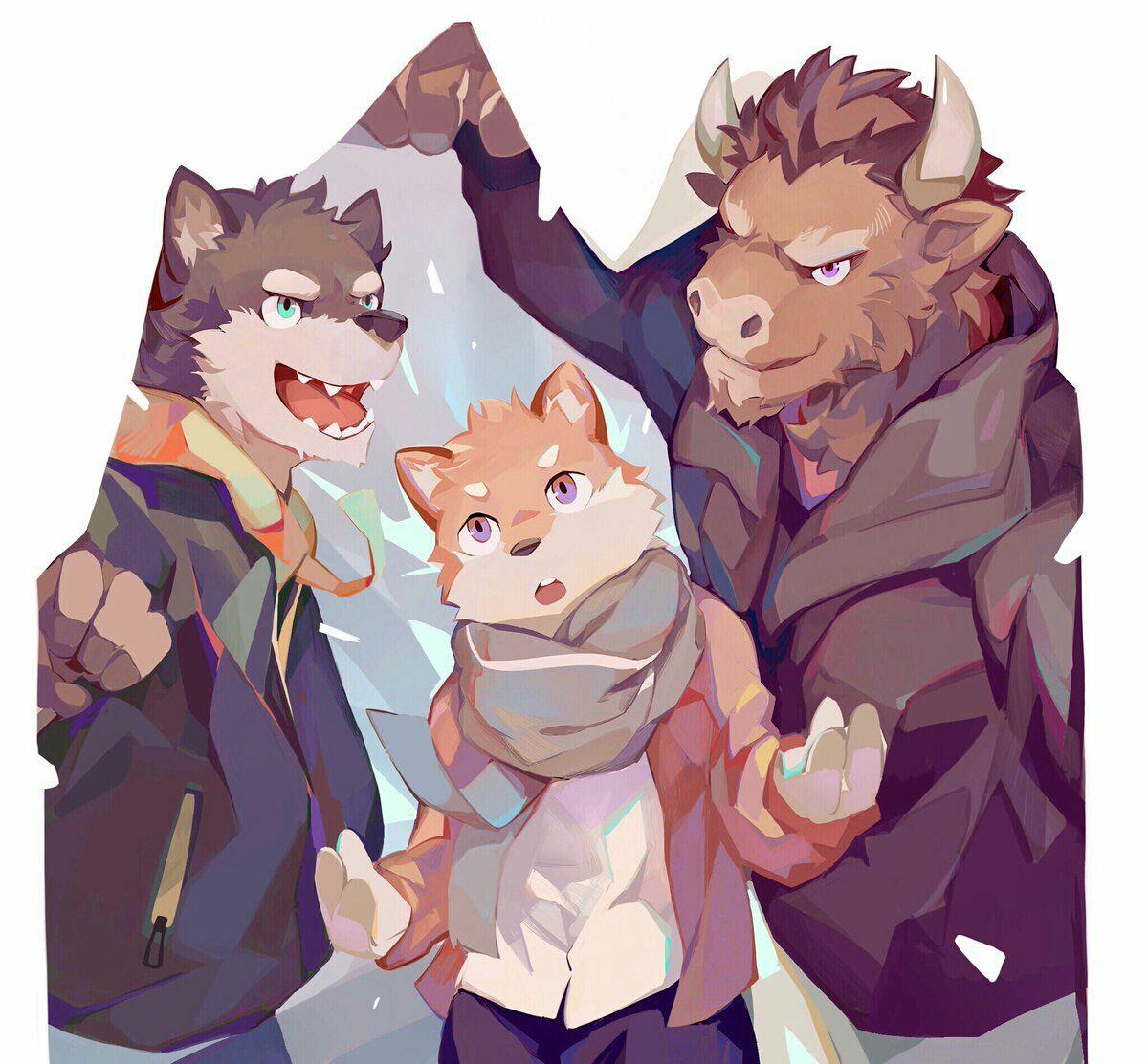 兽人图片肌肉污根_兽人动漫_动漫肌肉兽人基漫画_动漫肌肉兽人-圈子花园图片