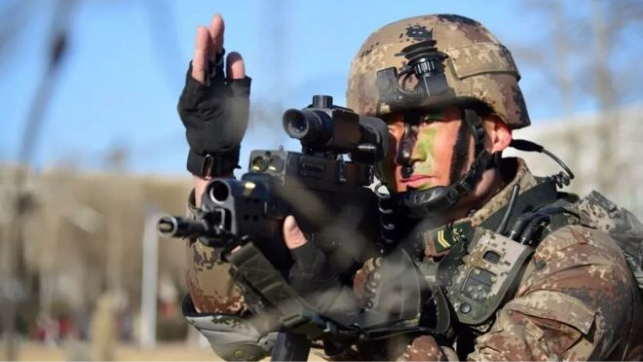 解放军模拟作战系统_解放军新一代单兵作战系统—QTS-11(11式单兵综合作战系统) - 哔 ...