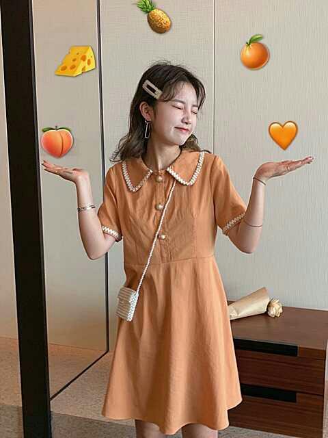 【左粟】甜度boom/娃娃领连衣裙分享/不超百元