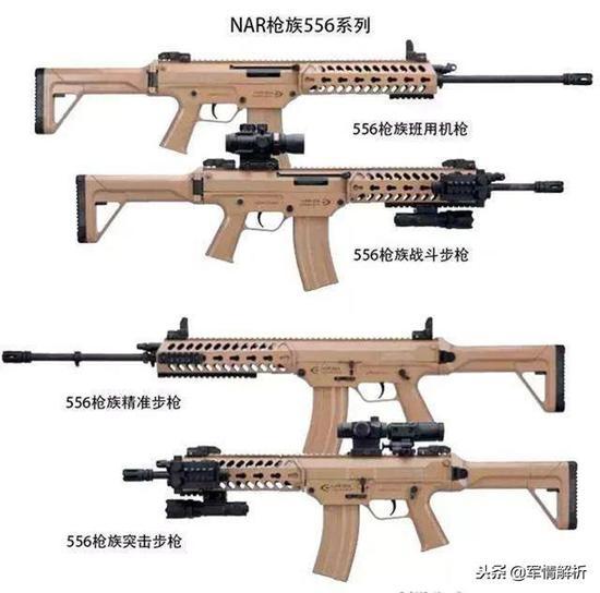 中国新式制式步枪