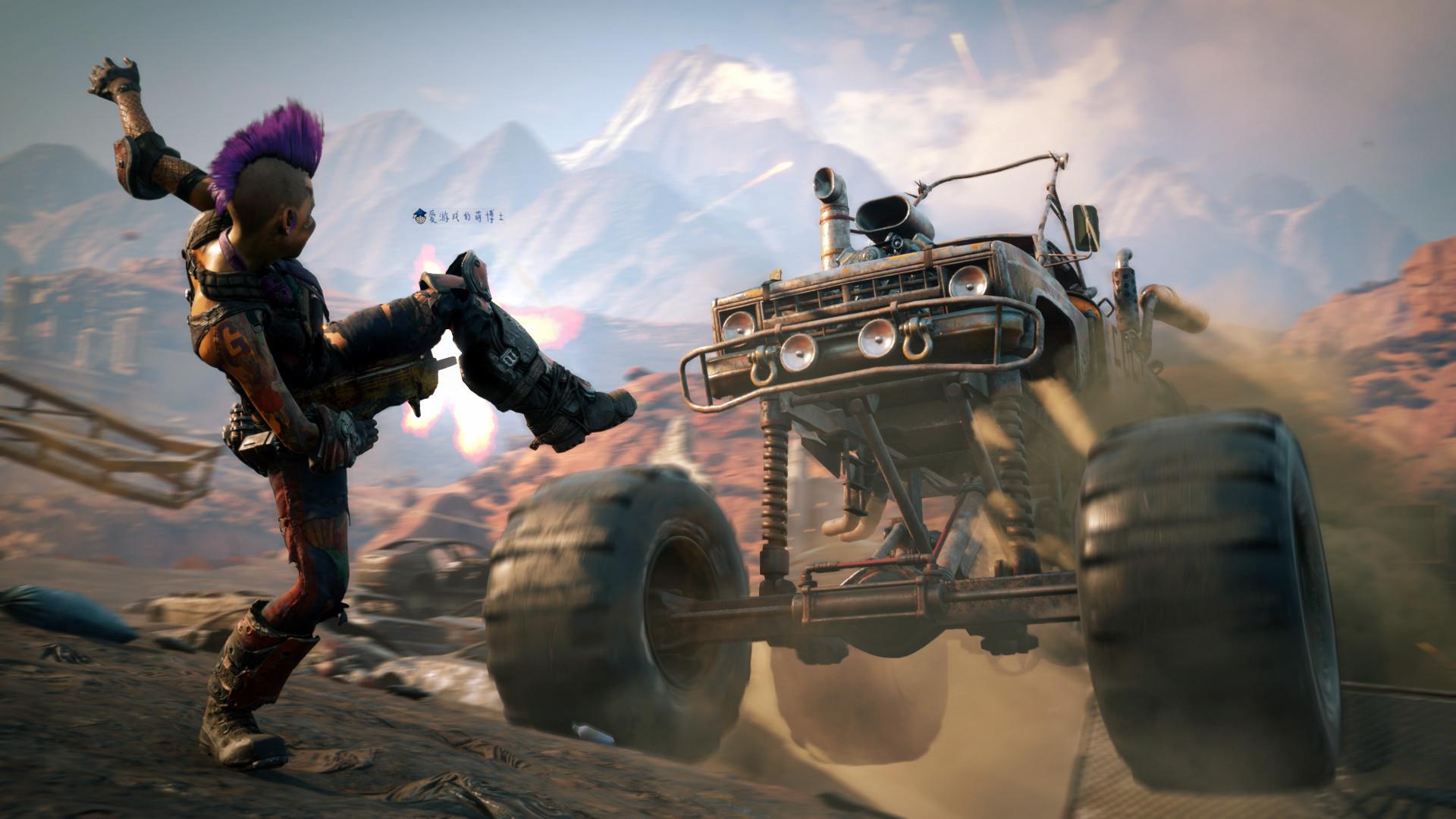感受朋克风格的末日世界,第一人称射击游戏《狂怒2》试玩