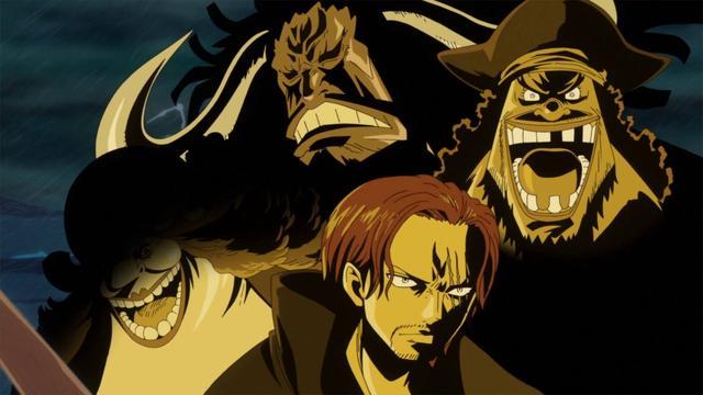 海贼王里最神秘的四皇海贼团,实力不明、地盘不明、目的不明!
