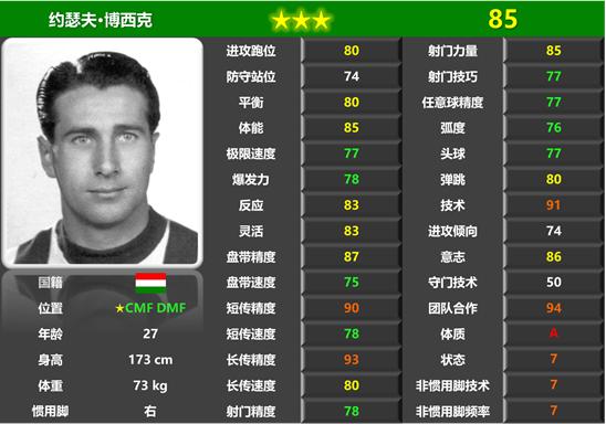 匈牙利足球明星