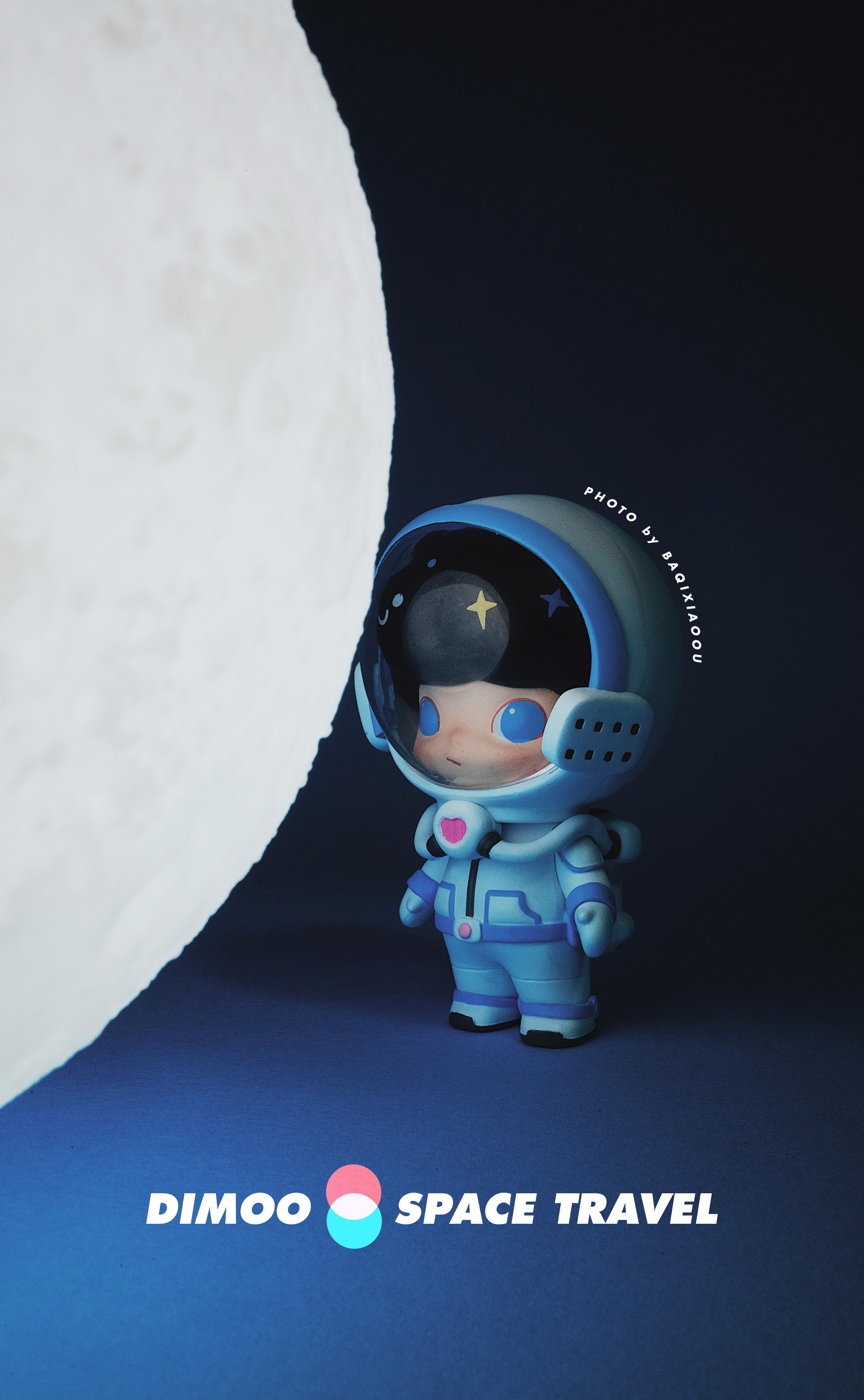纸盒人_泡泡玛特Dimoo太空系列壁纸合辑! - 哔哩哔哩